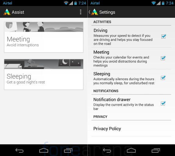 Motorola Moto G Moto Assist