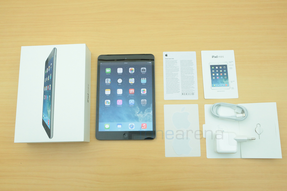 Apple ipad mini with retina display unboxing for Mac due the box