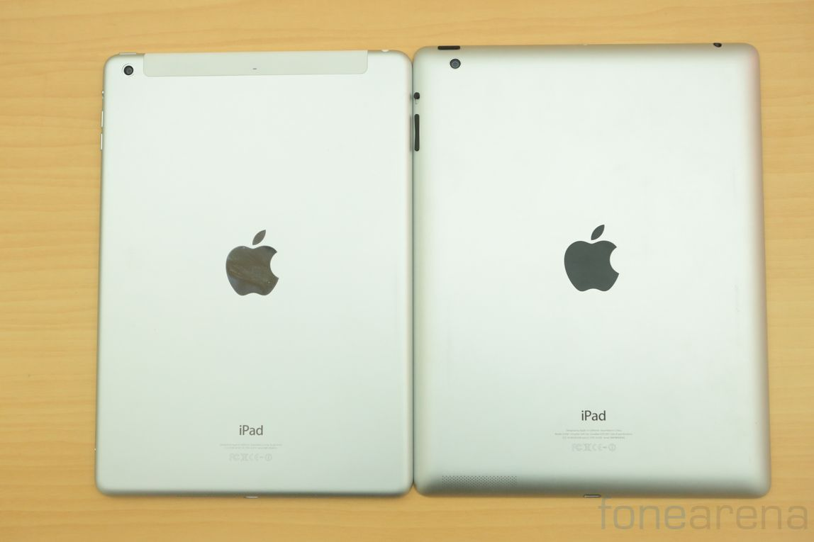 Apple iPad Air vs iPad 4 Photo Gallery