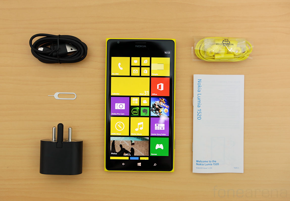 Nokia Lumia 1520 Unboxing And First Impressions