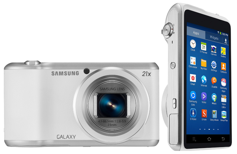 Samsung Galaxy Camera 2 with 16.3MP sensor, 21x optical zoom and ...