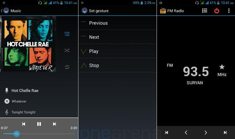 Lava Iris Pro 30 Music Player and FM