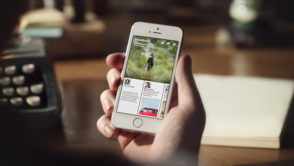 Facebook announces Paper, a slick social news aggregator that lets you share your own stories