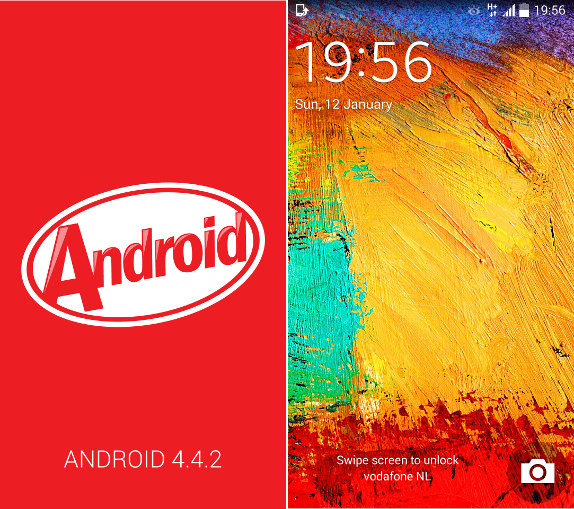 Samsung Galaxy Note 3 Android 4.4.2
