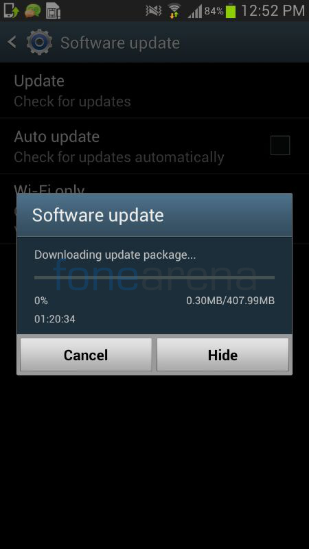 Samsung Galaxy S3 Android 4.3 India