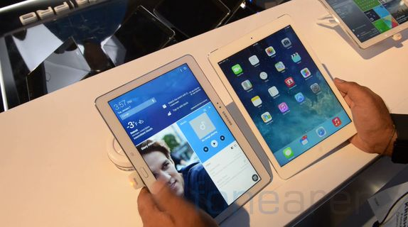 blog  samsung galaxy tab pro vs apple ipad air hands on