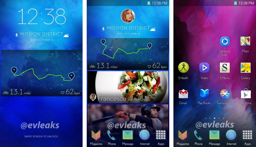 New Samsung UI
