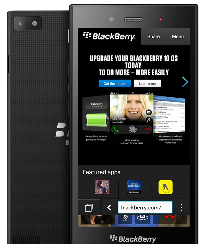 BlackBerry Z3 leak