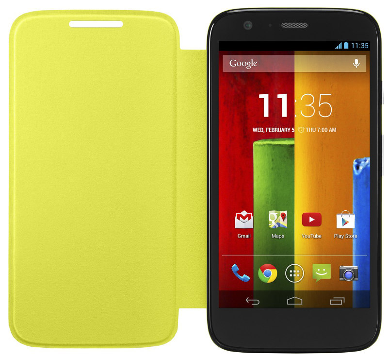 Moto G Back Cover, Grip Cover and Flip Cover get priced in India