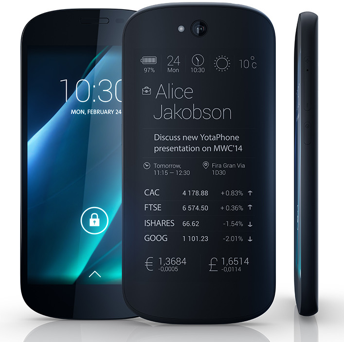 Next generation dual-screen YotaPhone with 5-inch 1080p ...