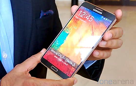 Note 3 Rose Gold Edition