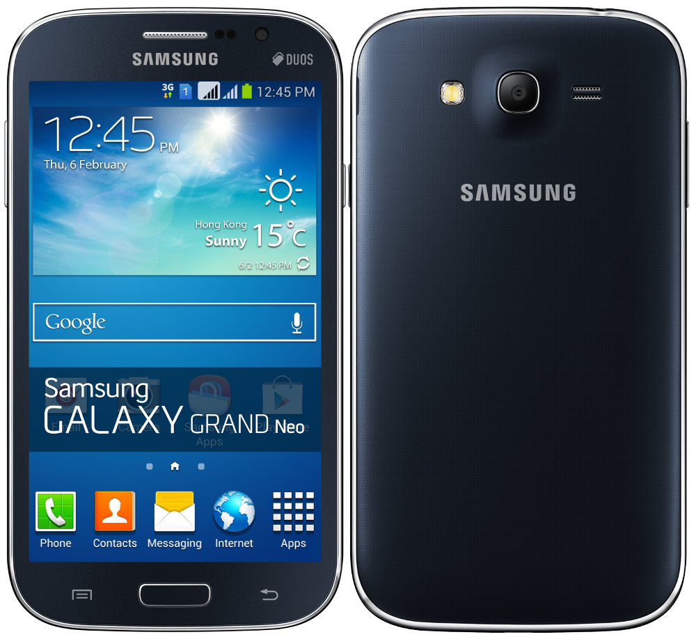 Brand NEW Samsung Galaxy Grand NEO I9060 5MP 1 2GHz Quad Android OS V4 ...