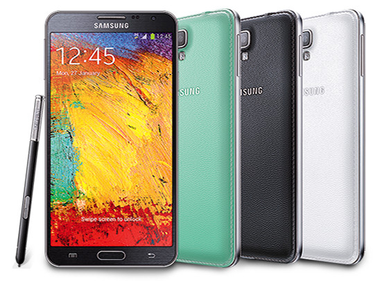 Samsung Galaxy Note 3 Green Samsung Galaxy Note 3 Neo Goes