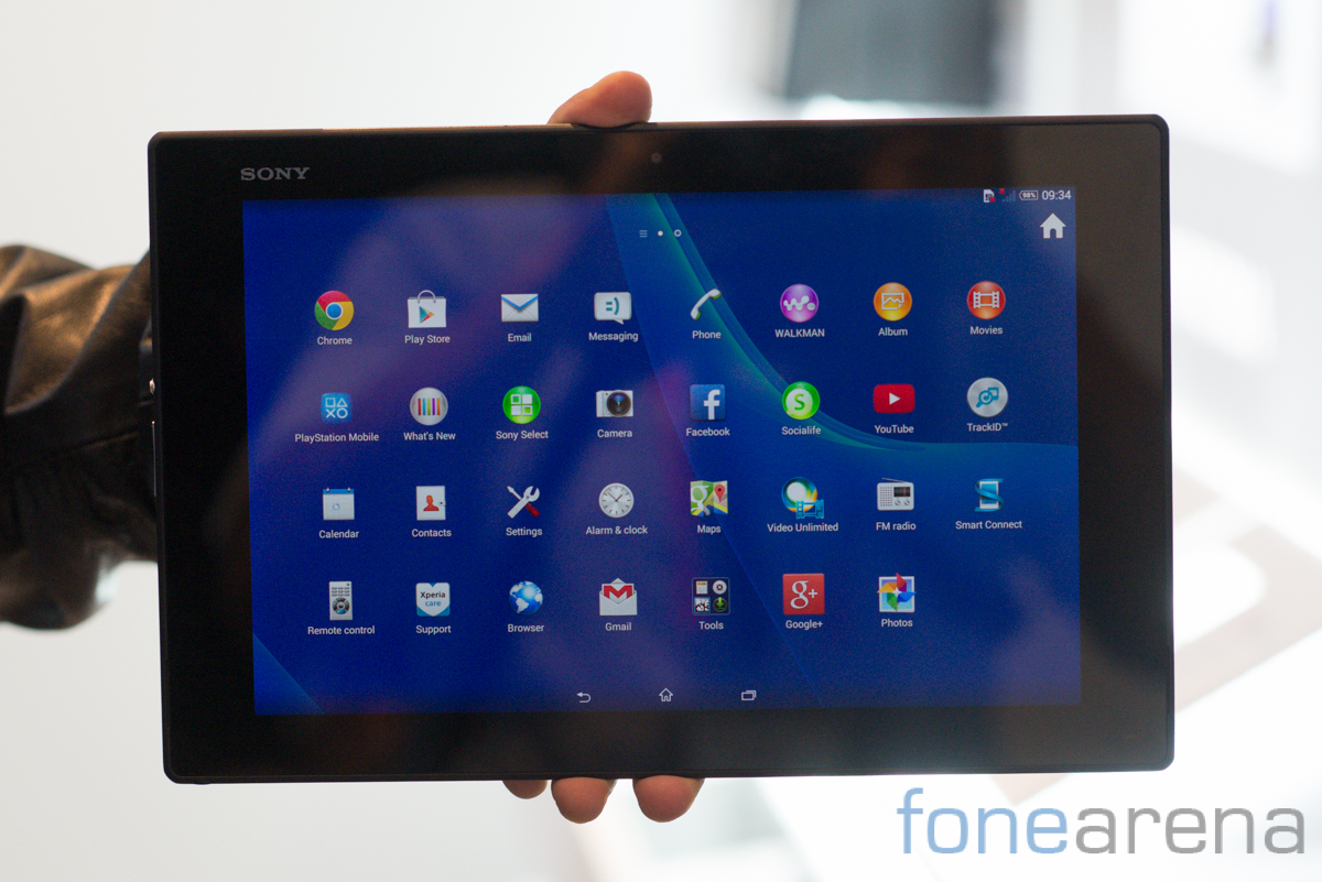 sony xperia z2 tablet hands on photo gallery. Black Bedroom Furniture Sets. Home Design Ideas