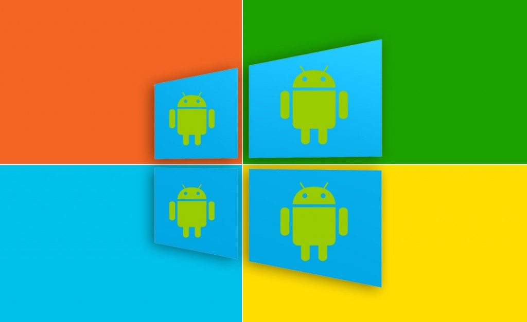 how to use android apps on windows phone