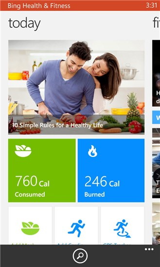 bing-health-and-fitness