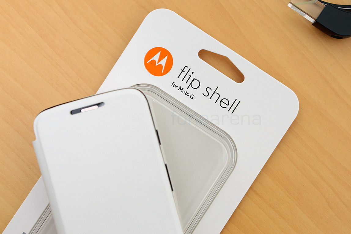 Motorola Moto G Flip Shell in White u2013 Pictures and Video