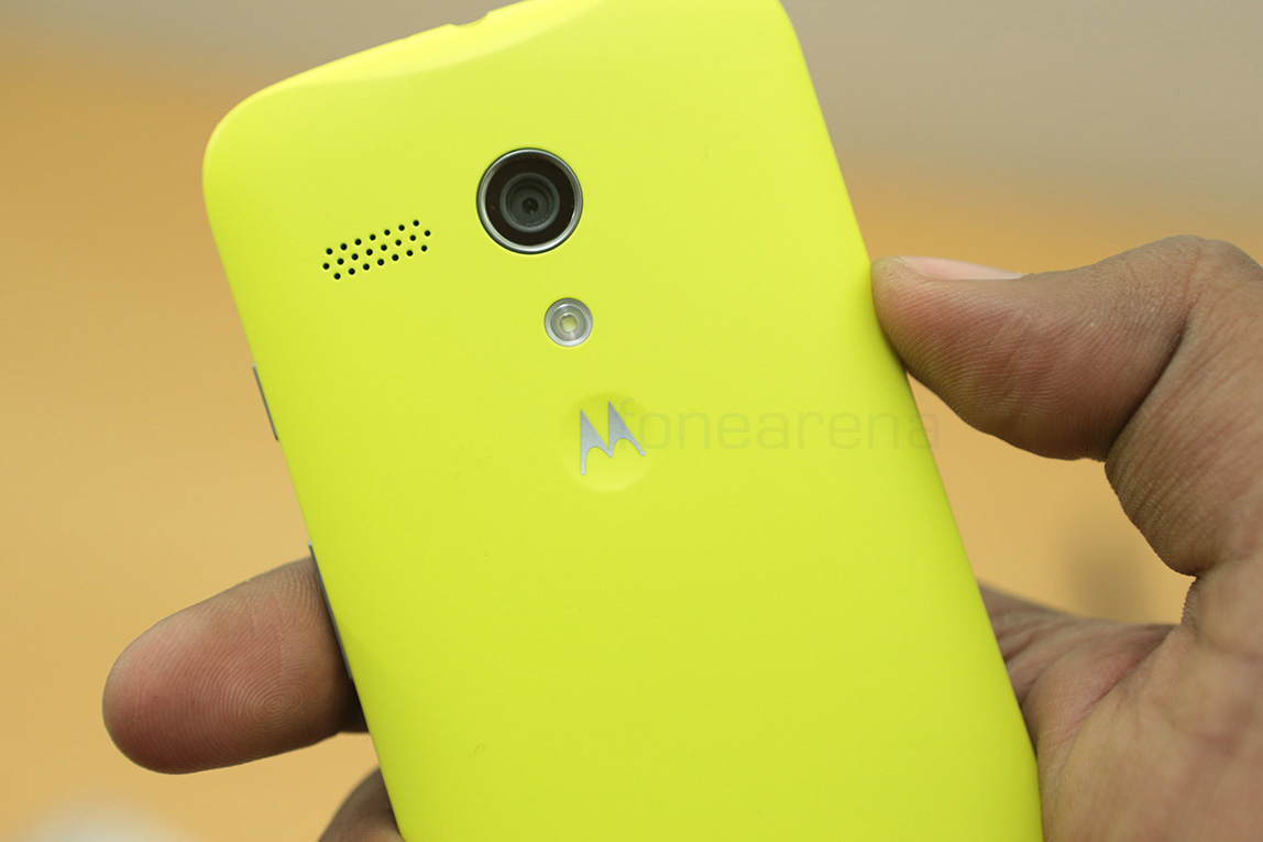 Motorola Moto G Shell Lime Yellow In Pictures And Video