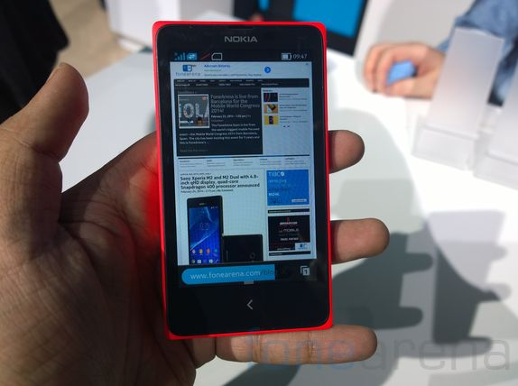 Фото Nokia X Android