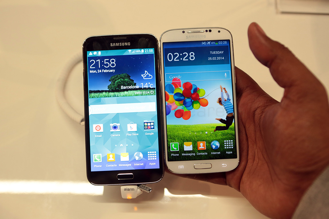 samsung galaxy s5 vs samsung galaxy s4 what has changed. Black Bedroom Furniture Sets. Home Design Ideas