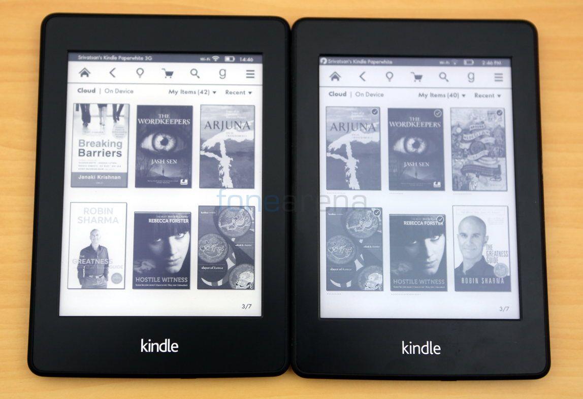 Kết quả hình ảnh cho Amazon Kindle Paperwhite (3rd generation)