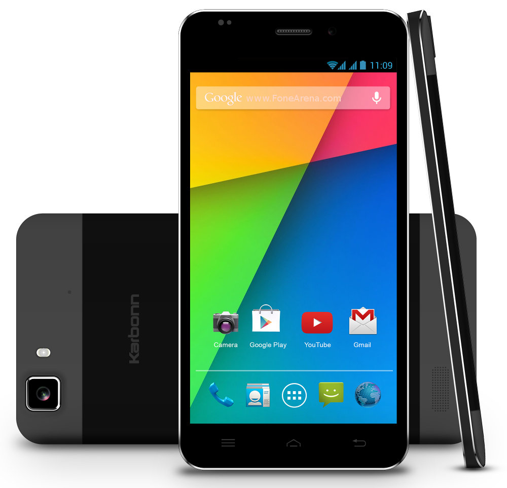 Phone New Karbonn Android Phone karbonn titanium hexa with 5 inch 1080p display core processor android 4 launched for rs 16990