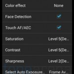 Xolo Q1100 Camera Options 2