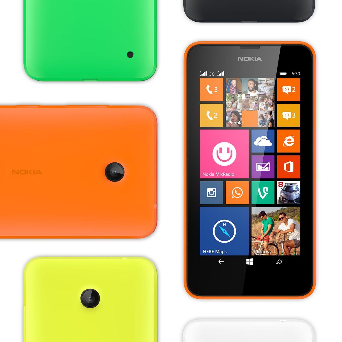 nokia lumia 630 dual sim windows phone 8 1 handset announced. Black Bedroom Furniture Sets. Home Design Ideas