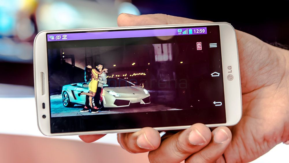 LG G2 LTE on Airtel 4G-2