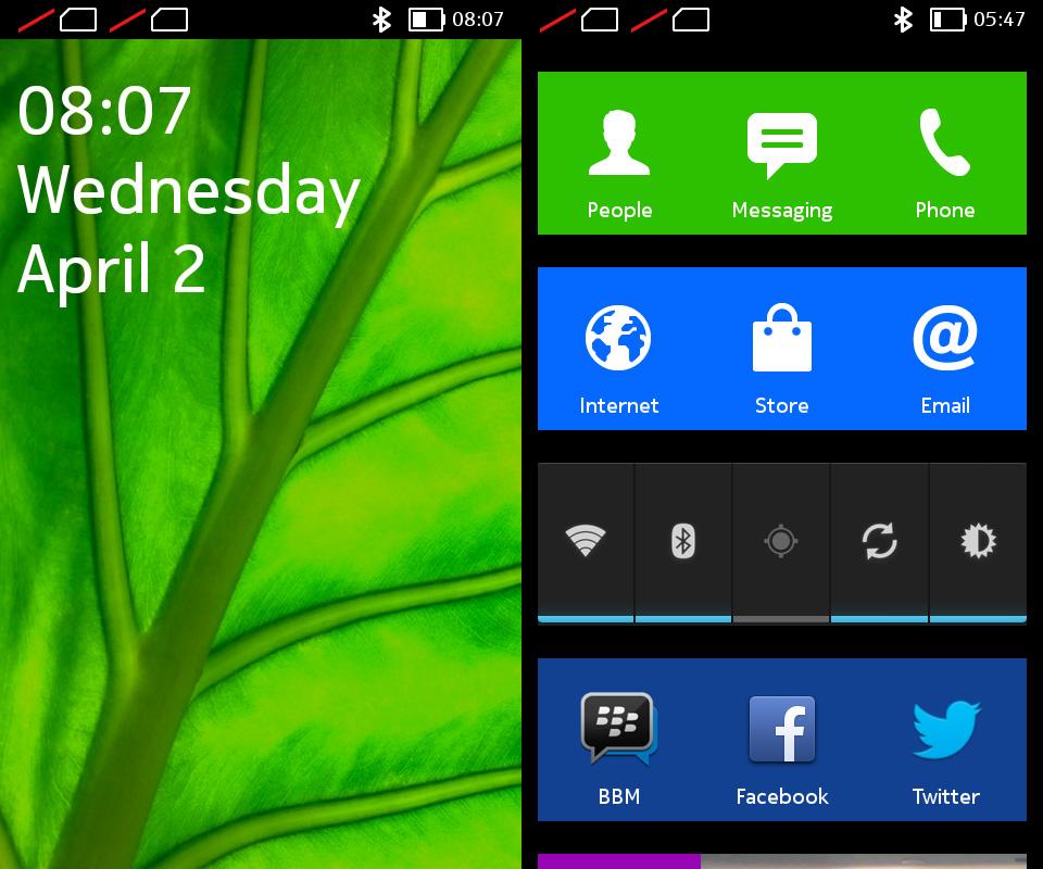 Nokia X UI 1