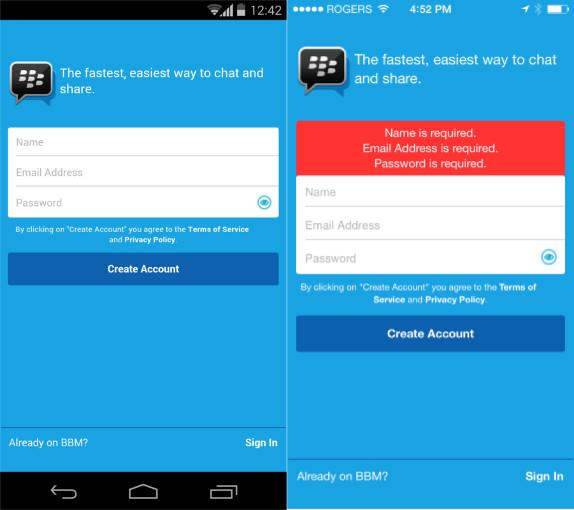 how to delete bbm invite on iphone