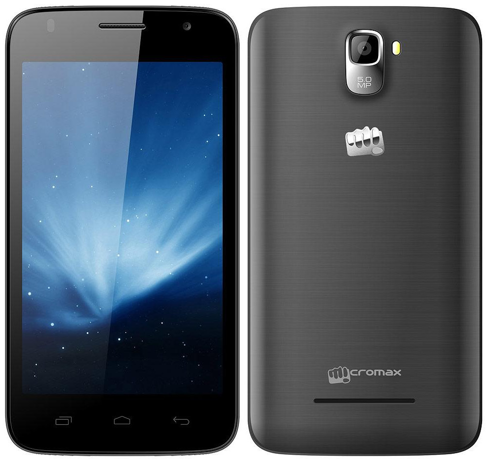 Micromax Canvas A105 With 5-inch Display, Android 4.4