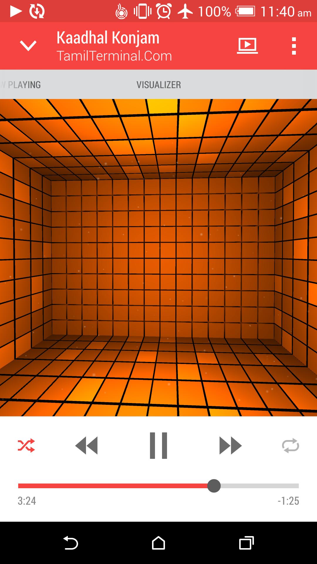 orange htc m8
