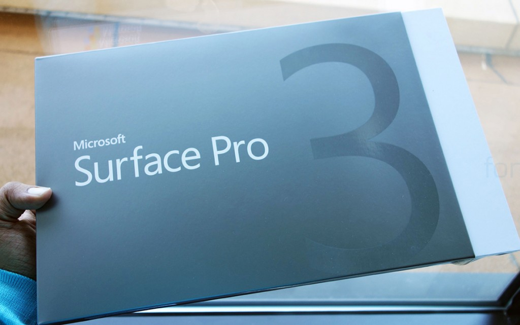 microsoft surface pro 3 unboxing and first look. Black Bedroom Furniture Sets. Home Design Ideas