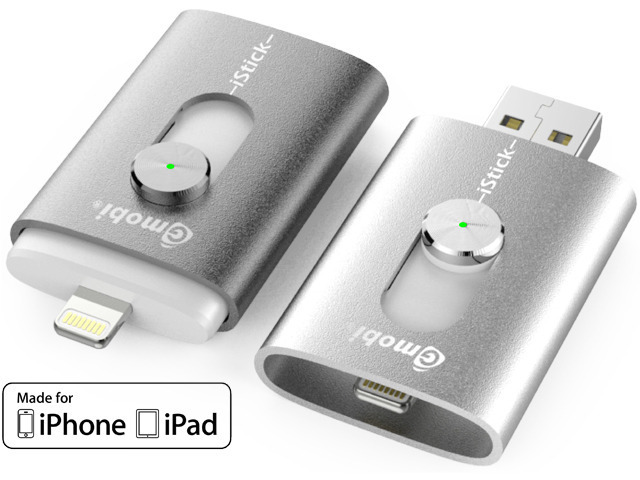 ... iStick is a USB OTG Drive with Lightning connector for iPhone and iPad