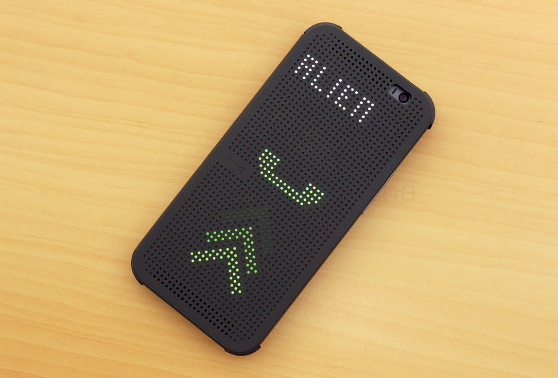 Hands on with the HTC One M8 Dot View Case