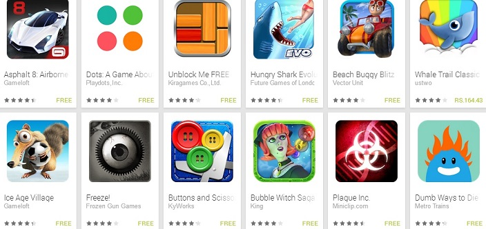 how to put games on the playstore