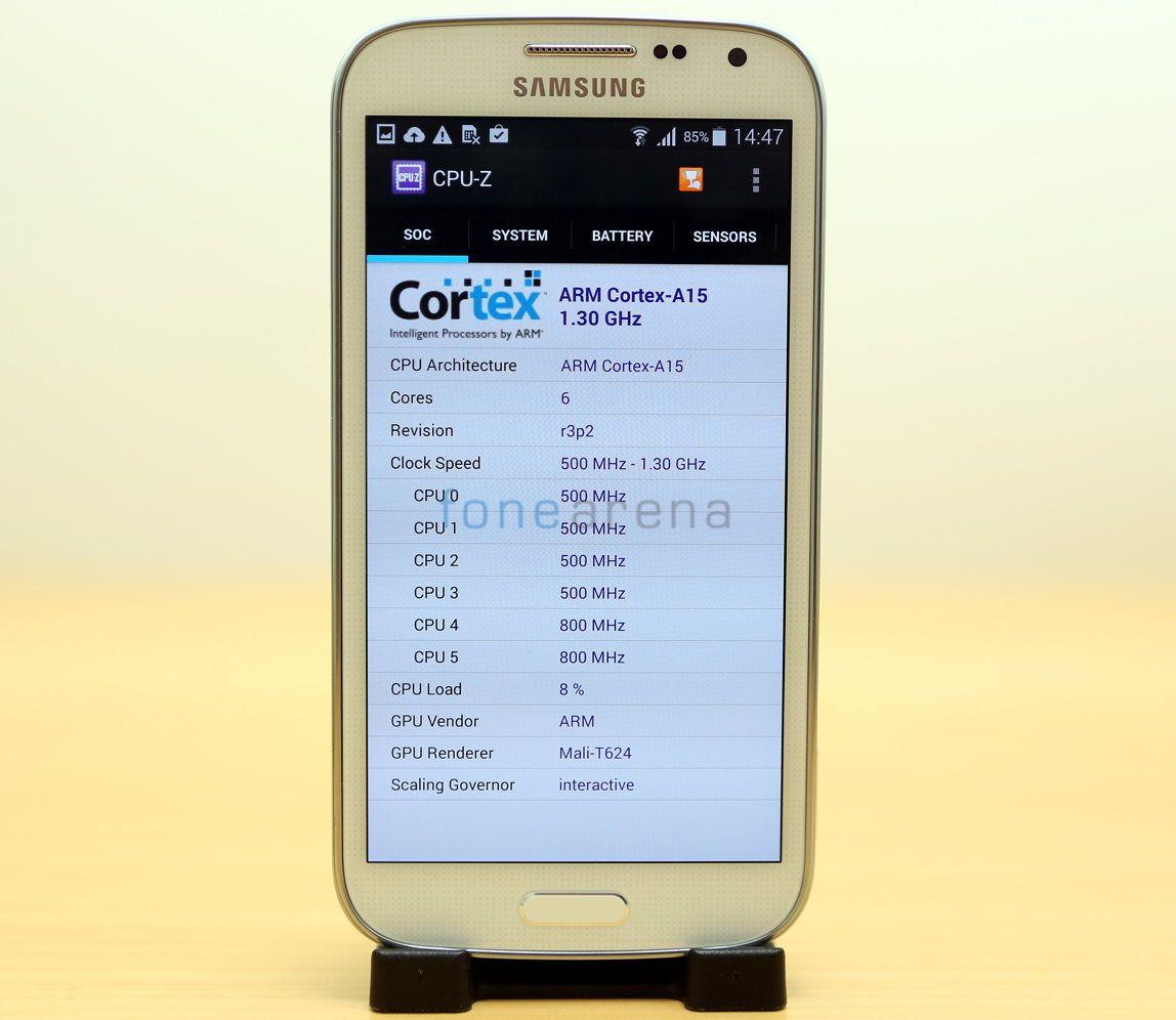 Samsung Galaxy K zoom Benchmarks