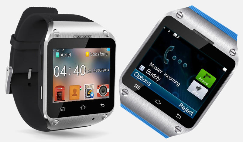 Spice Smart Pulse M-9010 Smartwatch with built-in phone ...