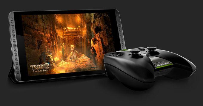 Фото | Игровой планшет NVIDIA Shield Tablet