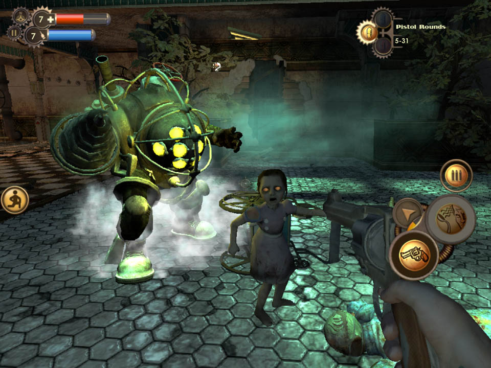 Bioshock 1 headed to the iPhone and iPad later this year