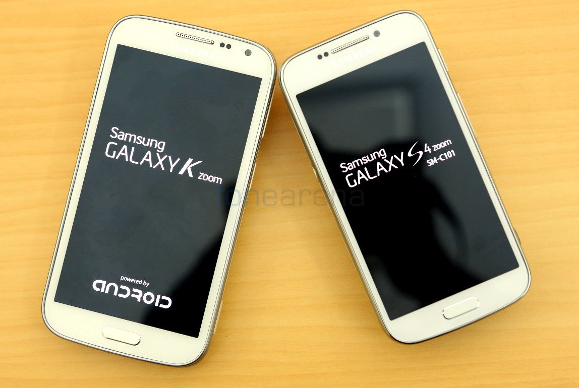 Samsung S4 Zoom Vs S4 Samsung Galaxy K zoom ...