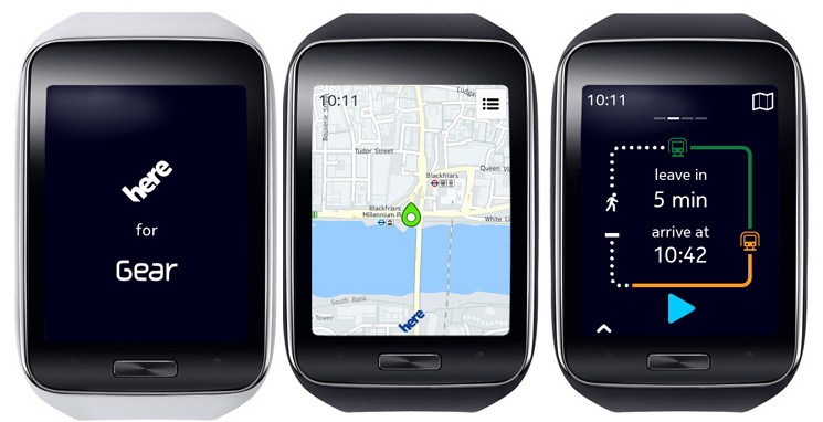 HERE Maps for Samsung Galaxy smartphones and Tizen-powered ...