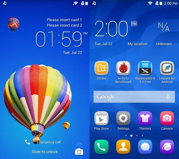 Huawei Honor 3c Emotion UI 1