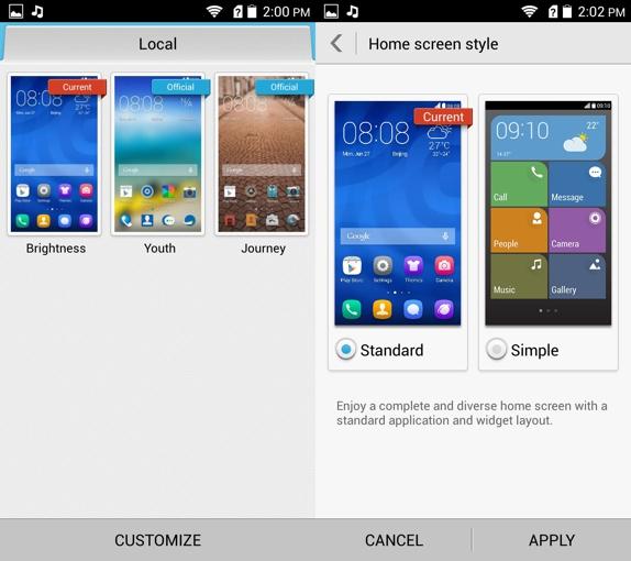 Huawei Honor 3c Emotion UI 3