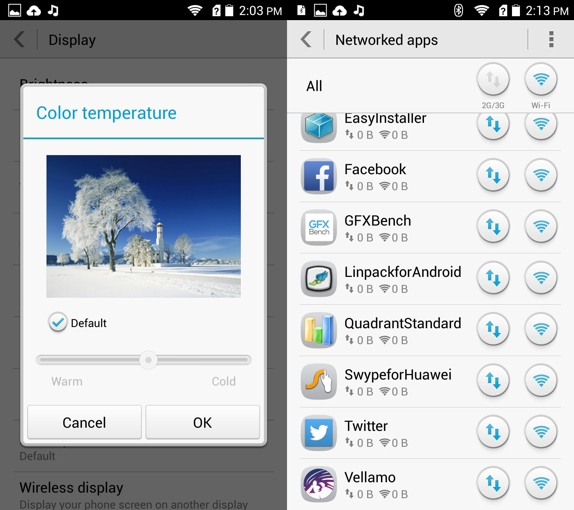 Huawei Honor 3c Emotion UI 6