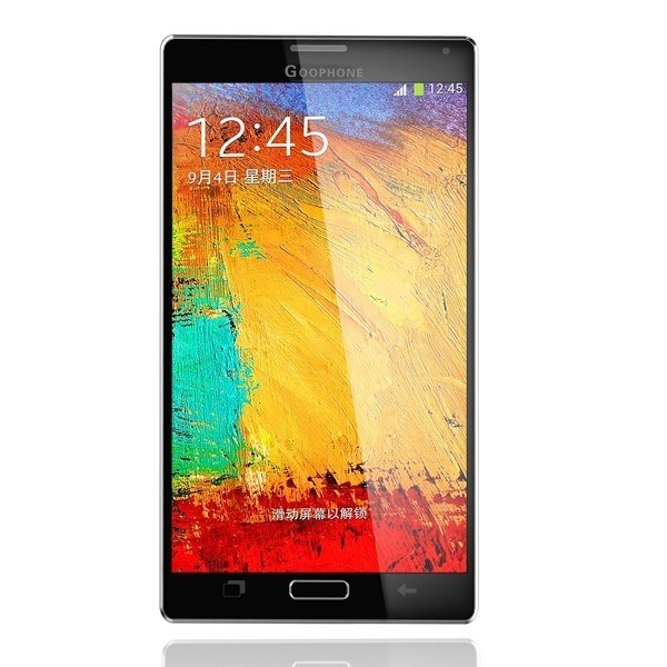 Goophone N4: A clone of the upcoming Galaxy Note 4