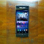 vertu front screen