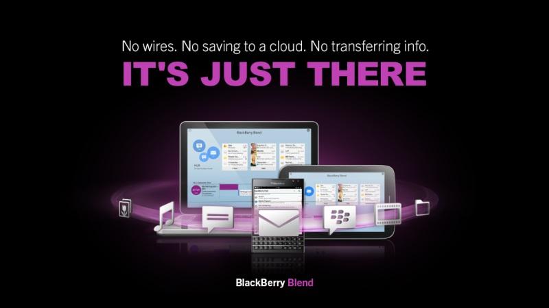 Blackberry link скриншот 1.