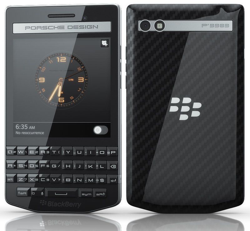 blackberry porsche 2014